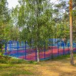Баскетбольная площадка на базе отдыха